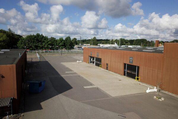 Bygning 1 - Kontor og lager