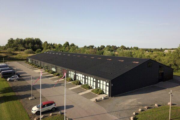 Bygning 12 - Kontor, lager og pulterrum